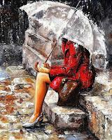 Emerico Toth. Πίνακες από την συλλογή Rain Day . (Βροχερή μέρα)