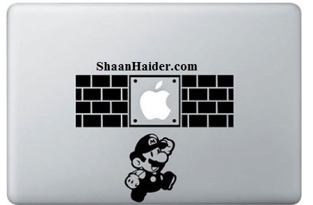 Super Mario MacBook Stickers and Decals