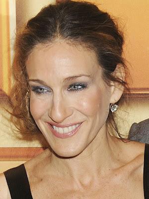 Sarah Jessica Parker Dangling Diamond Earrings