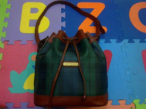 Polo Raplh Lauren Blackwatch Plaid Bucket Bag(SOLD)