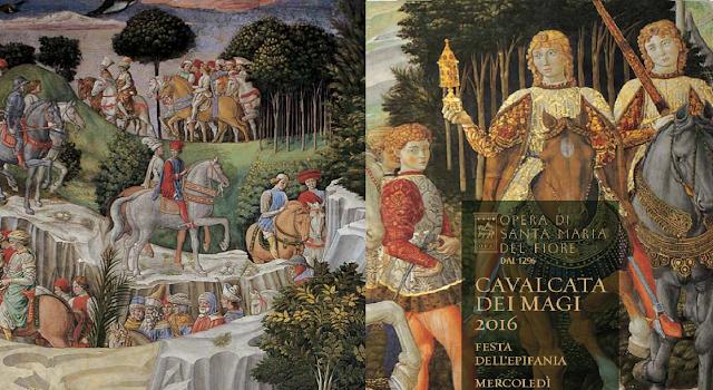 A festa dos Reis Magos em Florença