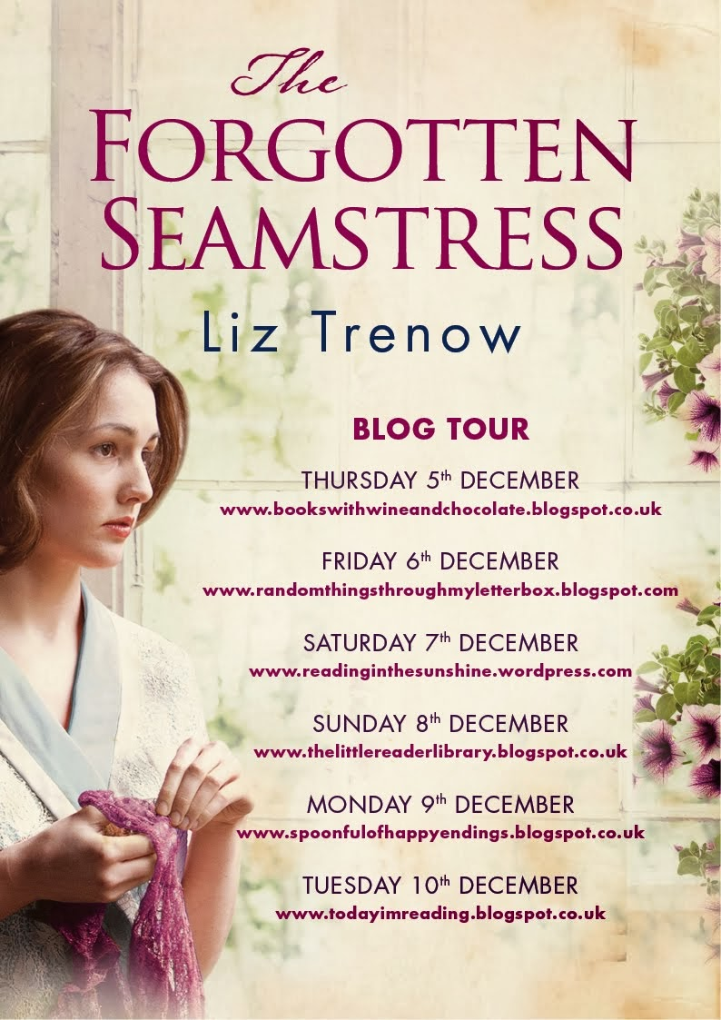 The Forgotten Seamstress Blog Tour