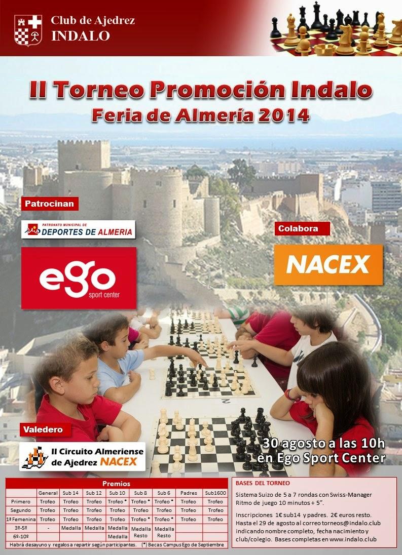 II TORNEO DE PROMOCIÓN EGO FERIA 2014