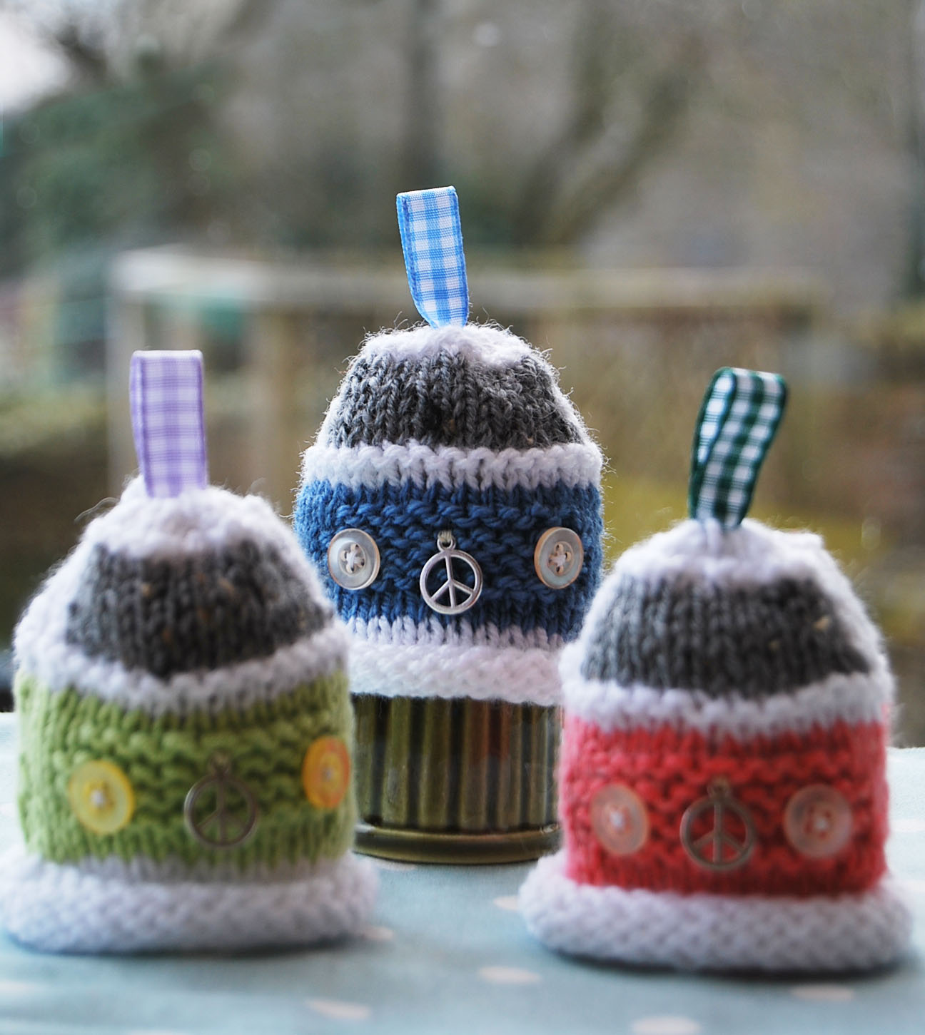 Snug in a Dub: Knit a Bay Campervan Egg Cosy for Easter