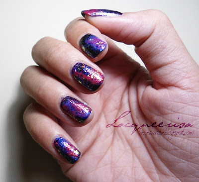 NOTD - Galaxy Nails