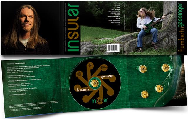 Gessinger promove seu álbum solo 'Insular' com parceria com Flausino