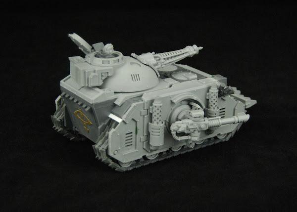 Warhammer 30k Sons of Horus  SOH+Predator+WIP+07
