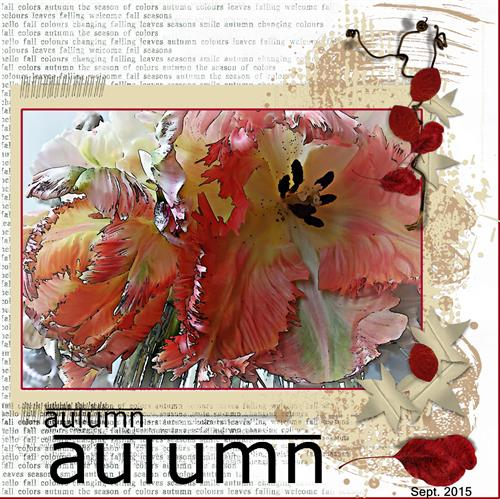 Sept. 15 - Autumn - Fall begins 2