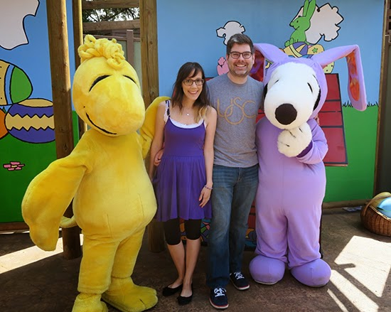 Easter Beagle at Knott's Berry Farm