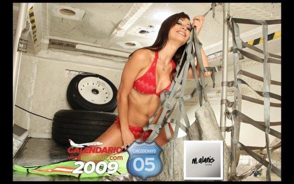 bombastic airlines - Viva Aerobus Calendario 2009