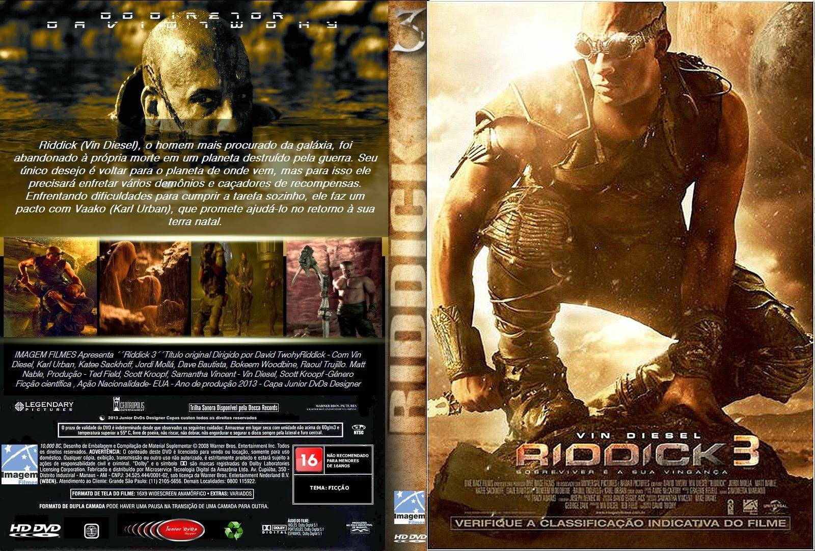 Riddick 3 DVDRip XviD Dual Áudio