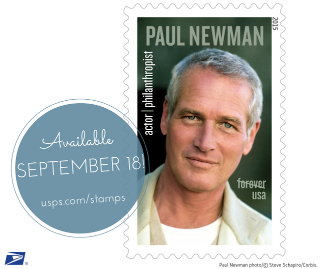 PAUL NEWMAN USPS STAMP AVAILABLE SEPTEMBER 18 2015