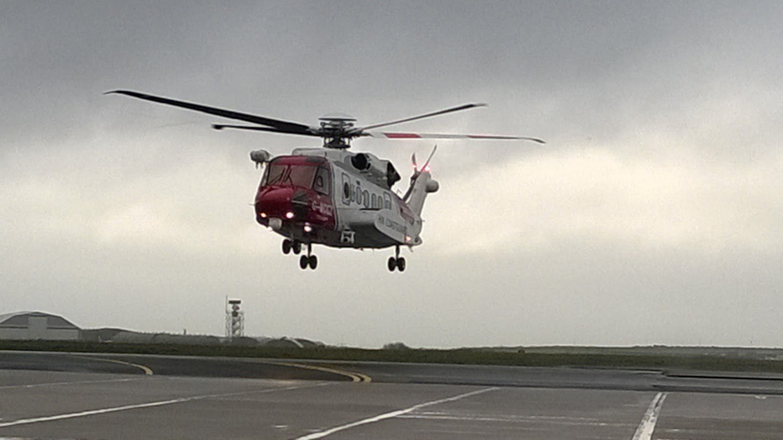 Newquay Coastguard Search And Rescue Helicopter Service Launch
