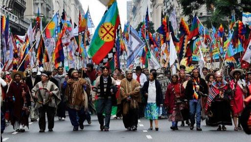 Por la prorroga de la ley 26.160 y el respeto de los derechos indígenas
