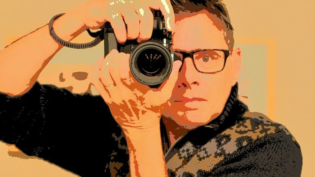 Back and Front the (compact) camera with Daniel M