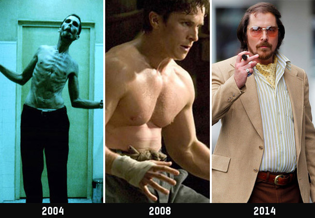 Christian Bale Lost 63 Pounds In Less Than 4 Months To