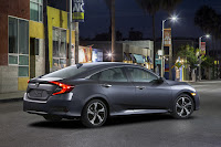 2016 All New Honda Civic Power performance side view