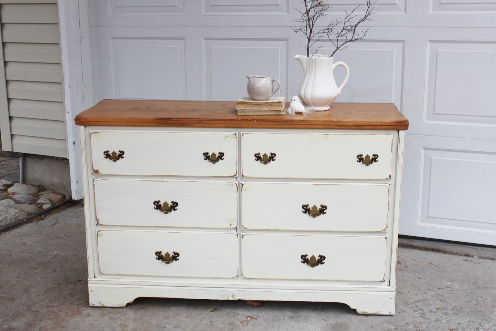 Shabby Chic Dresser} — Vintage Farm Furniture