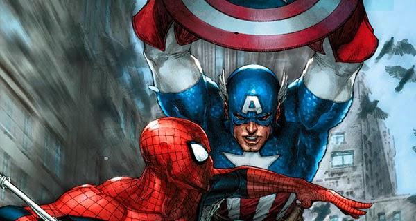 Capitán América y Spider-Man