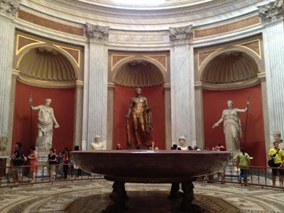 Mapa de la ciudad del Vaticano. Los Museos Vaticanos. Roma. Italia. Turismo en roma. que visitar en roma. lugares de interes de roma.