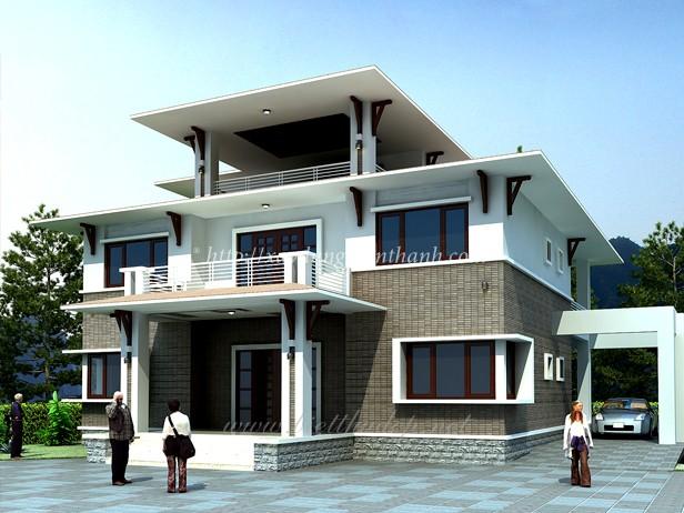 xây nhà vừa bền vừa đẹp
