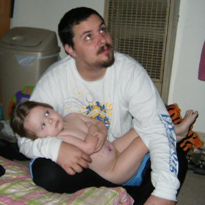 Sasha & Daddy