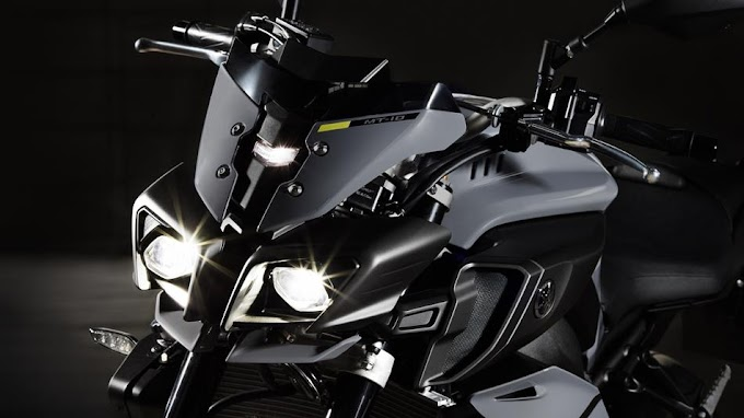 Galeri Foto Yamaha MT-10 The Ray of Darkness