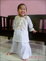 Baju Kurung Polka Dots for LittLe giRL..