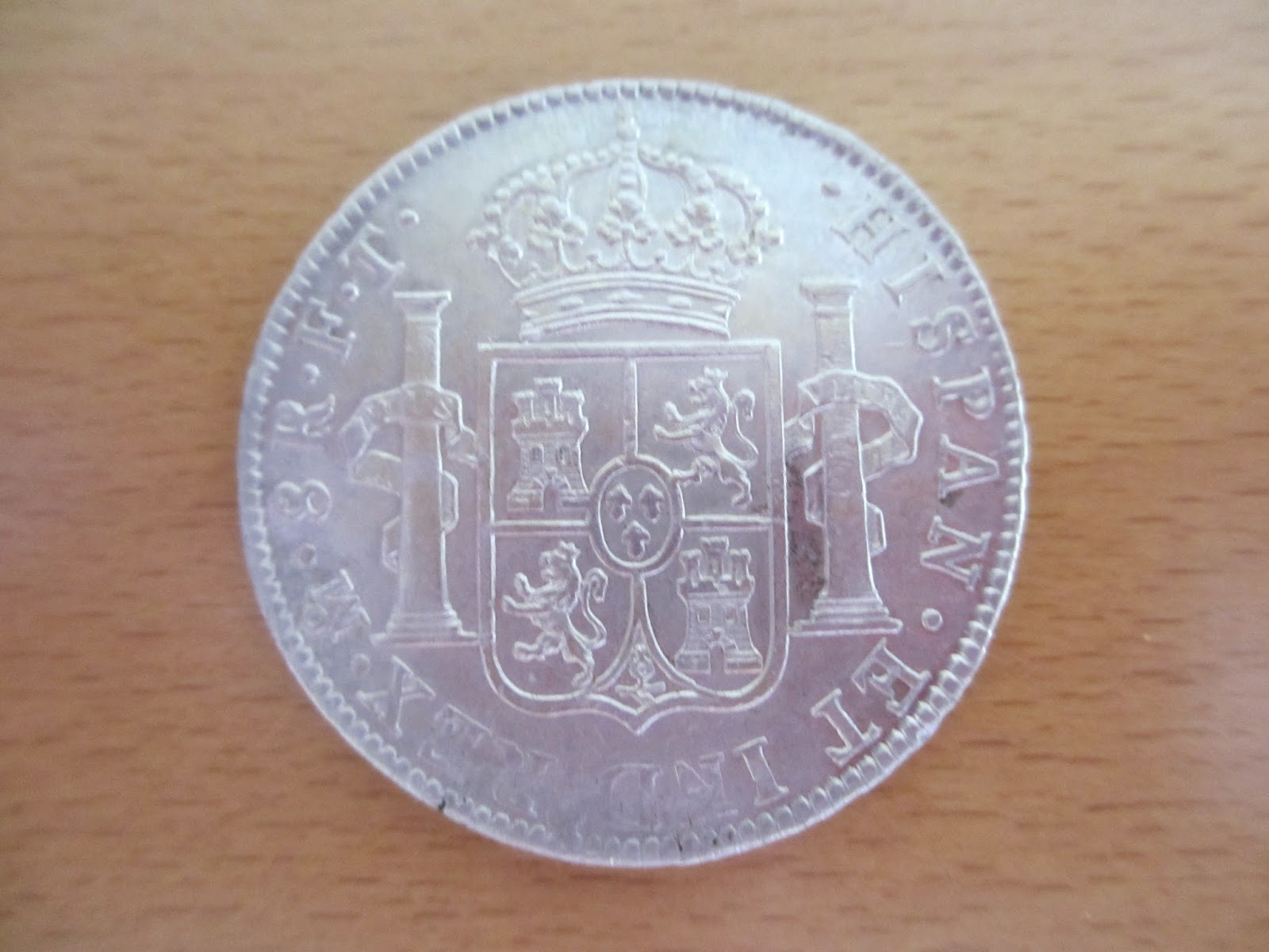 "Carlos IV, 8 Reales 1803 (Méjico) Naufragio ""HMS Athenienne"" IMG_0753"