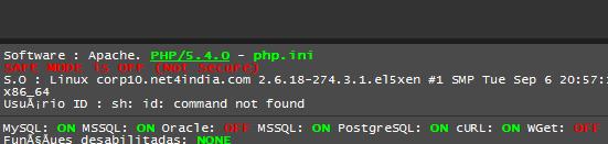 Vamos procurar Shell Script upadas em servidores invadidos