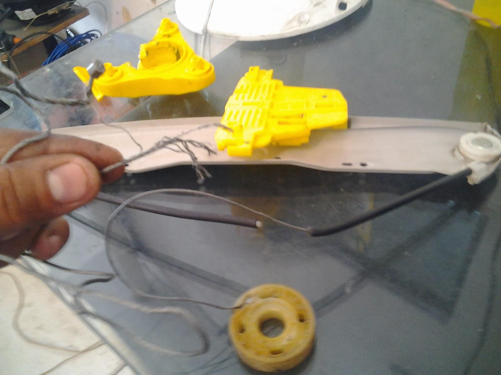 engenho elétrico quebrado
