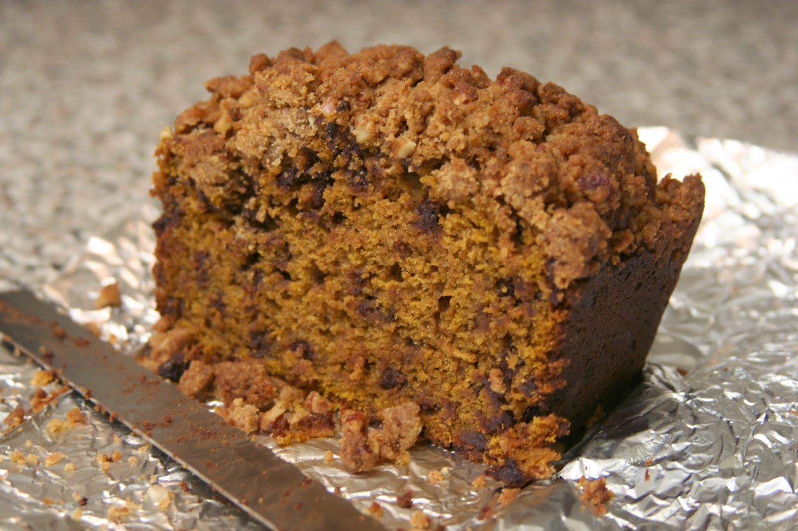 Culturally Confused: Chocolate Chip Pumpkin Bread with ...