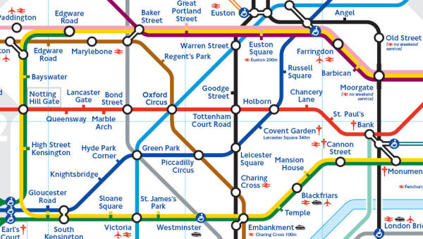 london underground zones 1 and 2. London+underground+zones