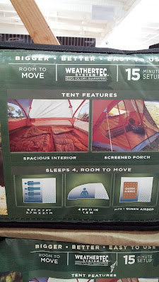Set up is easy with the Coleman Screened 4 person Dome Evanston Tent can hold up to 4 people and features a screened porch
