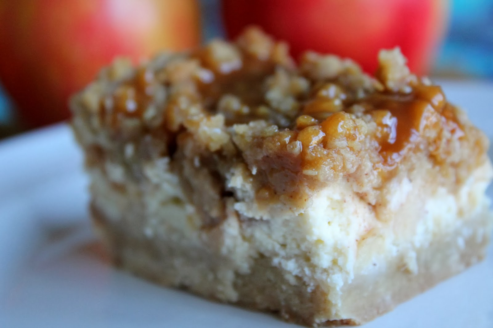 Bakestravaganza: Caramel Apple Cheesecake Bars