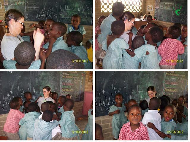 I bambini della scuola africana della Missione di Atchanvé