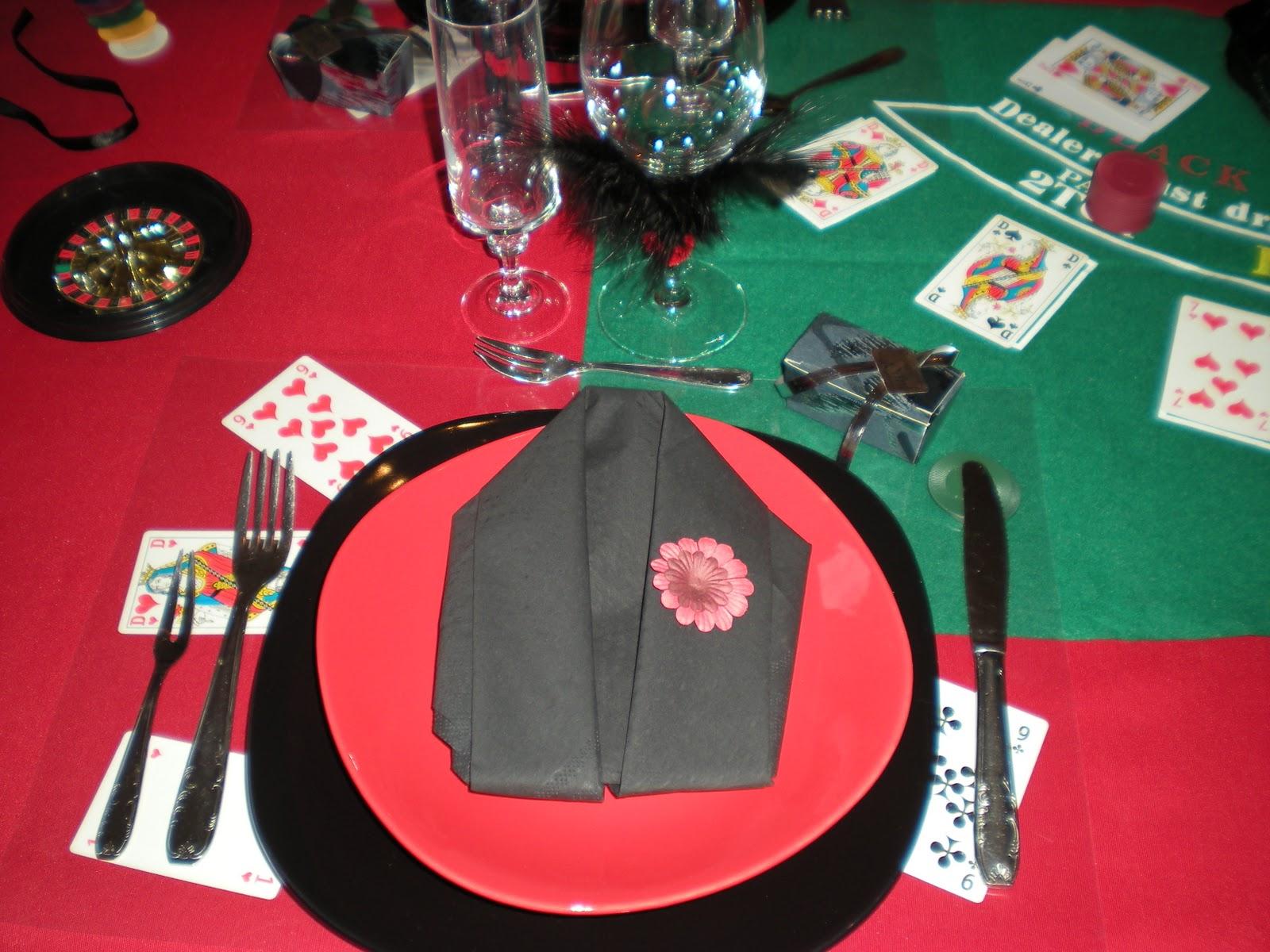 D co th mes nouvel an sur le th me jeux de casino - Theme nouvel an ...