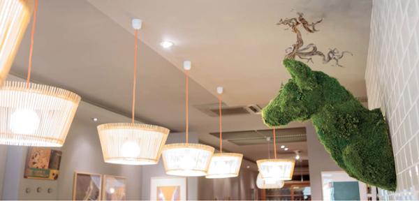 Cabeza de ciervo de carton decorar tu casa es - Cabeza de ciervo decoracion ...