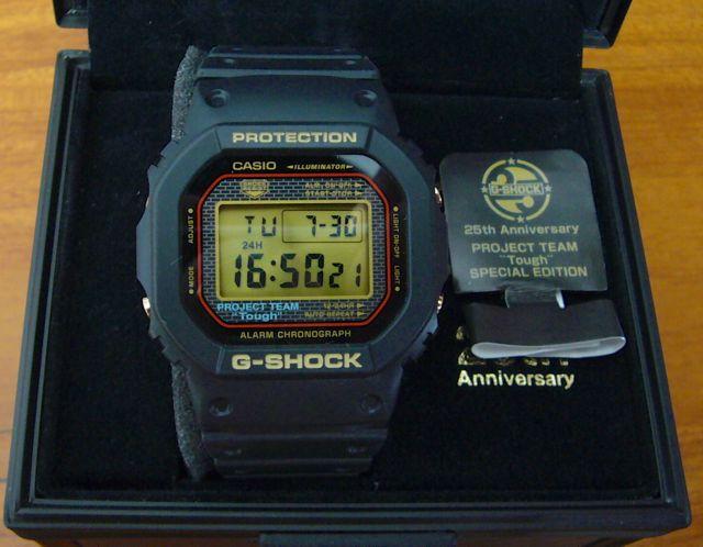 Часы G-SHOCK от CASIO самые прочные часы в мире