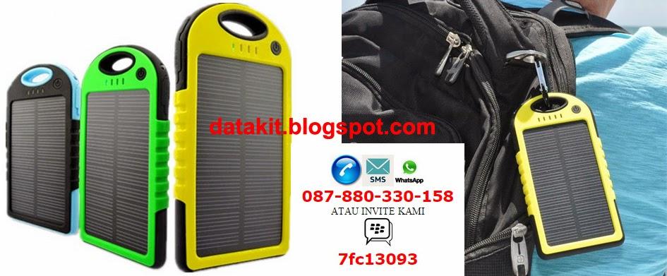 recharger, solar, tenaga, matahari, anti air, carabiner, back packer