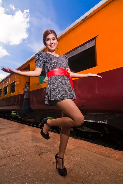 Maw Phu Maung, myanmar model