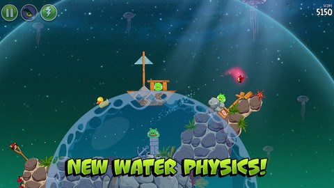 Angry Birds Space updated to version 1.4.0 for iOS and Android
