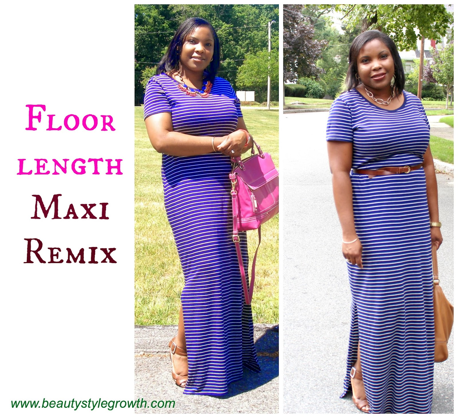 How to style a Maxi dress, belted maxi dress, how to wear skinny belt