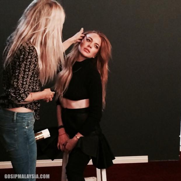 Gambar Sek$i Lindsay Lohan Jadi Bahan Jenaka?, info, terkini, hiburan, sensasi, gossip, kontroversi, Hollywood celebrities, Lindsay Lohan