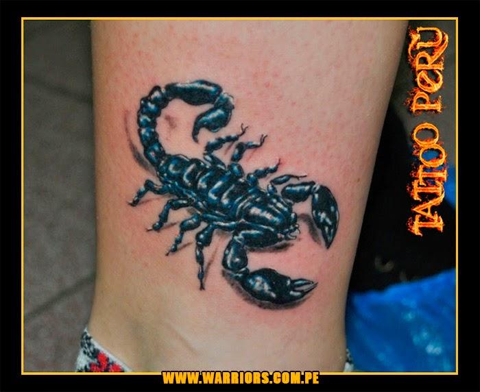 Как сделать татуировку скорпион 915
