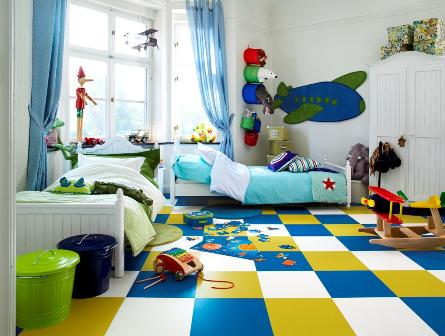 Decorar el dormitorio infantil con creatividad - Cuartos infantiles para ninos ...