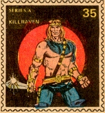 Killraven Marvel Value Stamp #35