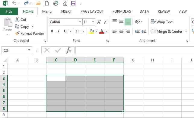 Tutorial Sy Cara Membuat Tabel Pada Microsoft Excel 2013