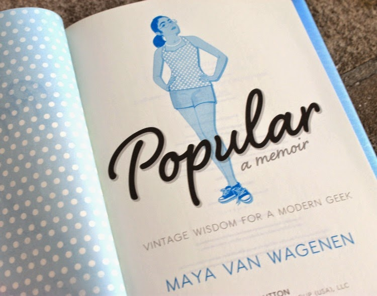 A Vintage Nerd, Vintage Blog, Vintage Inspired Memoir, Retro Fashion Lifestyle, Maya Van Wagenen, Vintage Wisdom for a Modern Geek