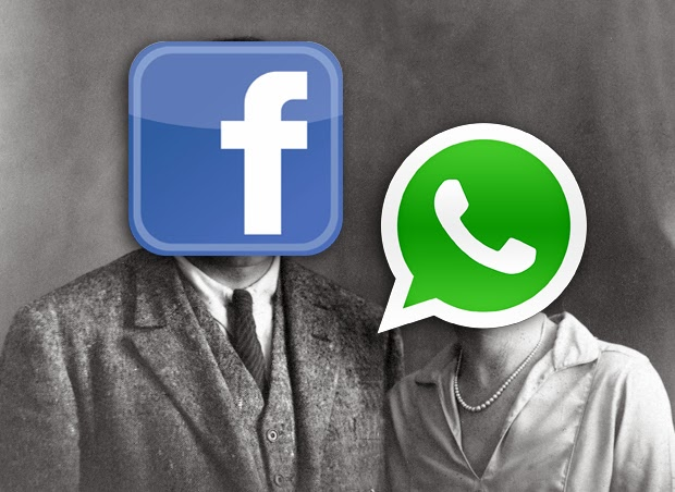 WhatsApp married to facebook pic
